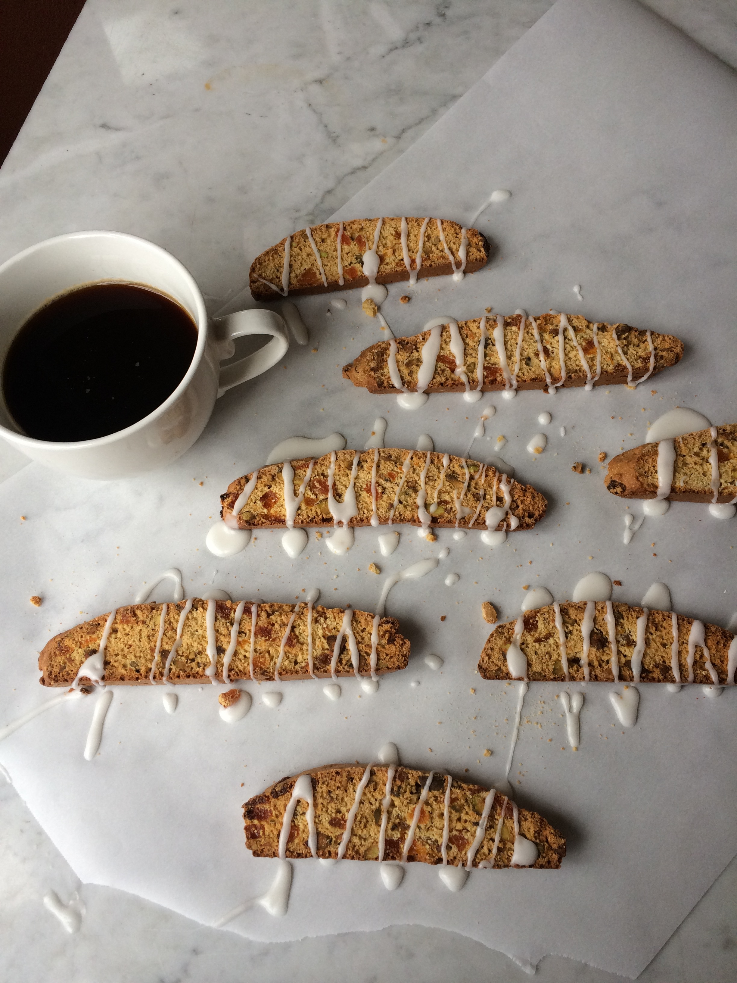 Pistachio – Apricot Biscotti   Zestful Kitchen