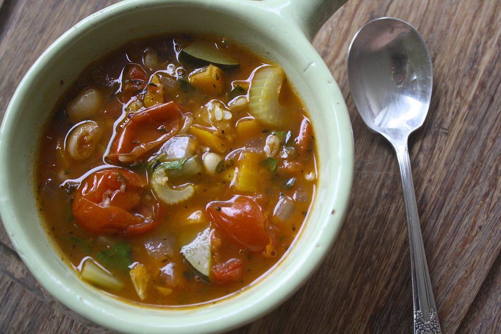 Chunk Vegetable Soup | Zestful Kitchen