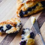 Healthy Low Fat Blueberry Scones