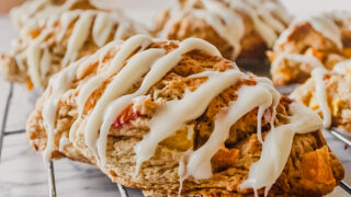 Peaches 'n Cream Scones