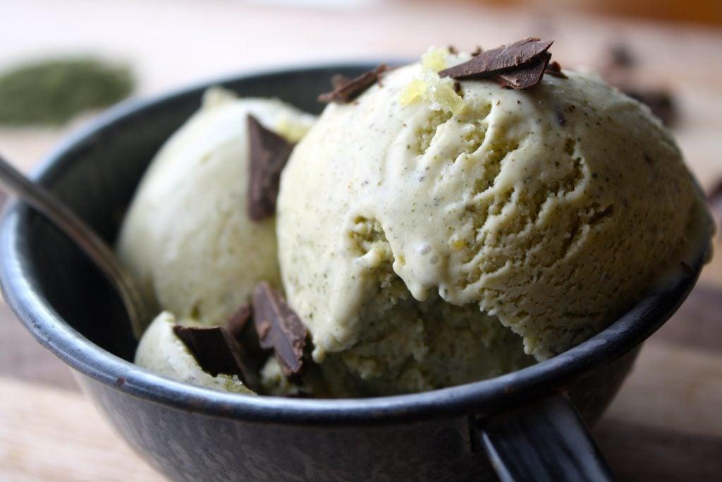 Matcha Ice Cream | Zestful Kitchen