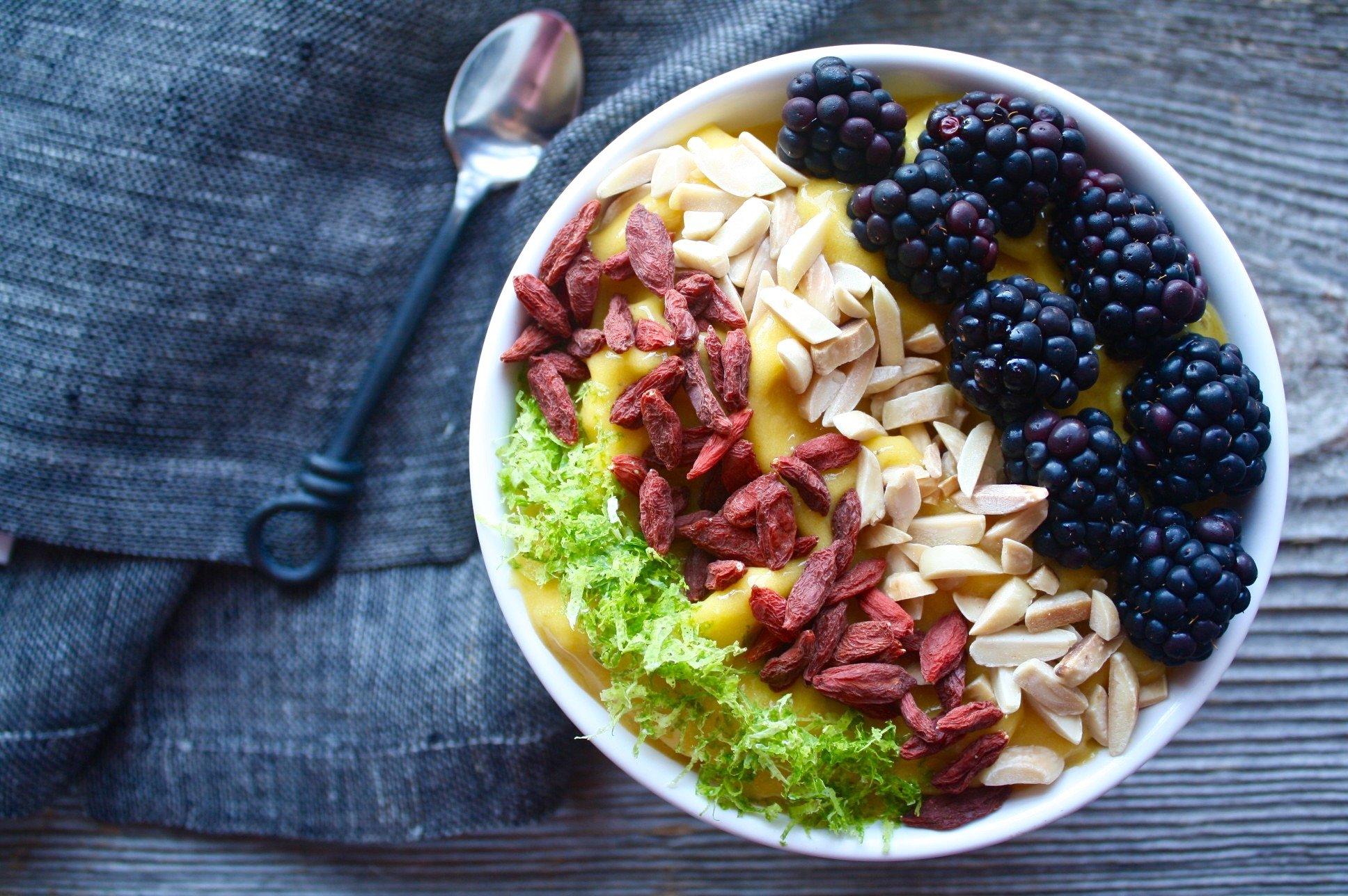 Mango – Turmeric Smoothie Bowl | Zestful Kitchen