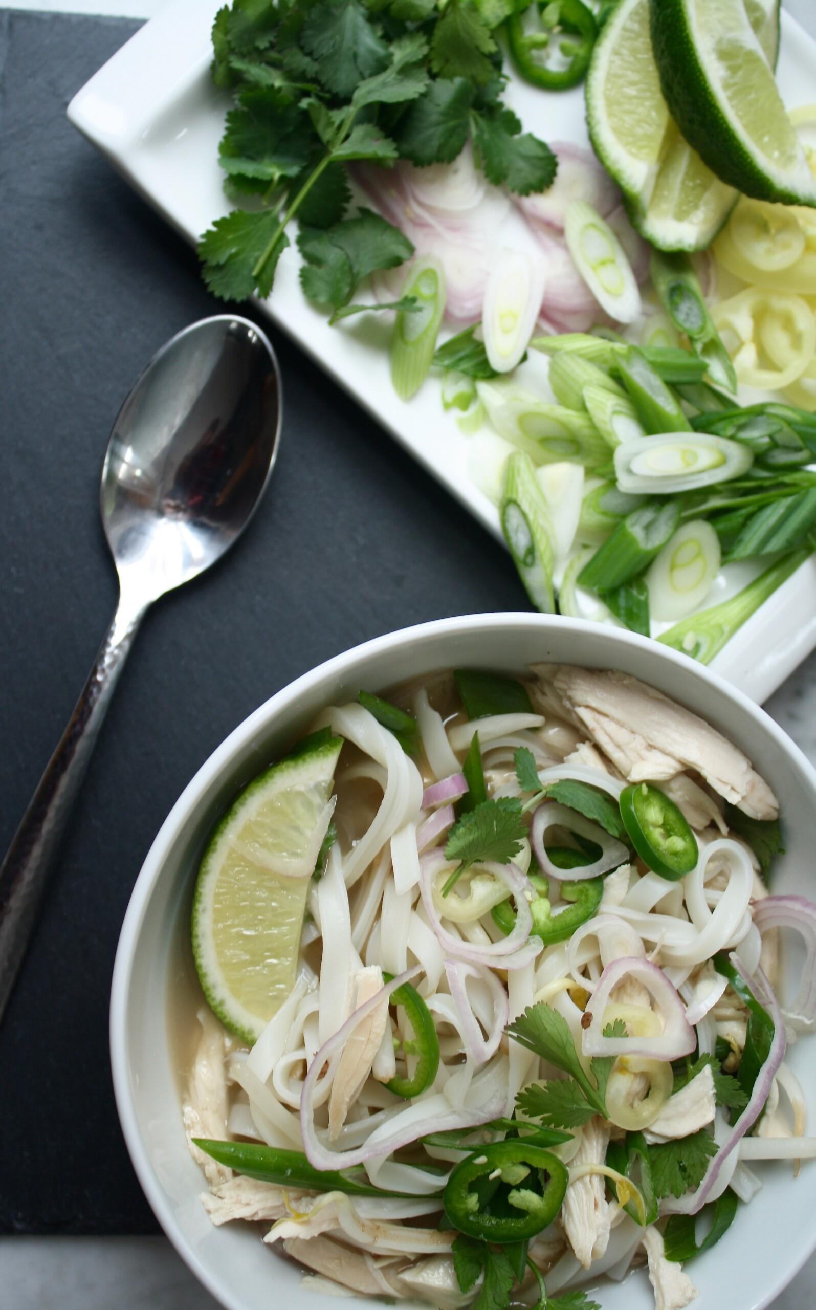 Weeknight Chicken Pho | Zestful Kitchen