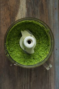 Pistachio & Arugula Basil Pesto + 5 Ways to Use Pesto