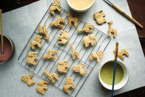 Whole Grain Animal Cracker Cookies   Zestful Kitchen