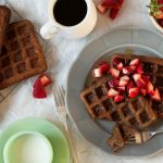 Gluten Free Buckwheat Waffles | Zestful Kitchen