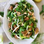 Spring Asparagus Panzanella Salad
