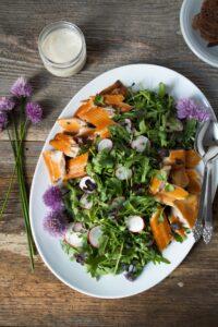Smoked Trout Salad | Zestful Kitchen