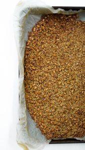 Strawberry & Pine Nut Brittle Salad | Zestful Kitchen