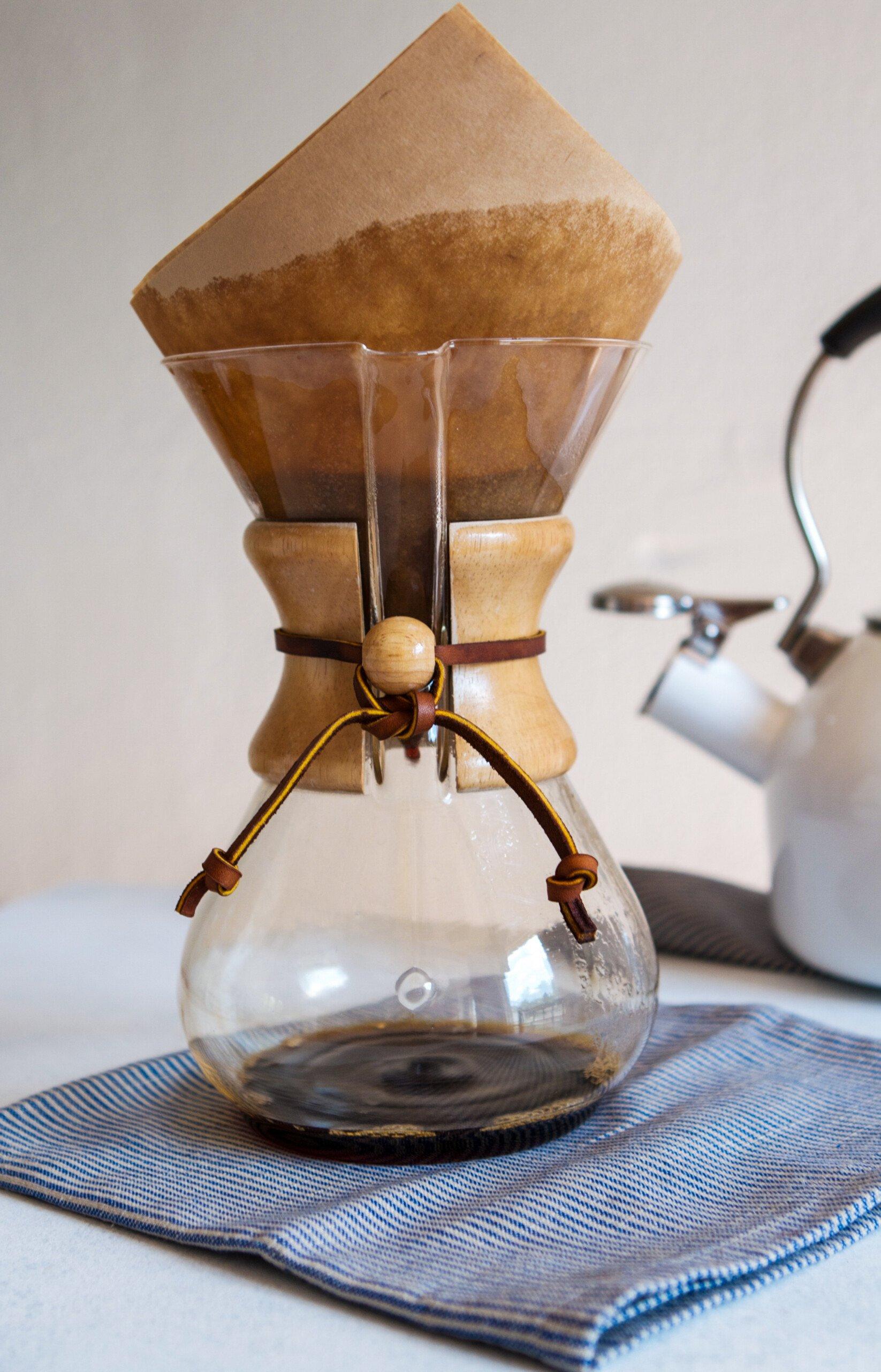 How to Brew Chemex Coffee | Zestful Kitchen