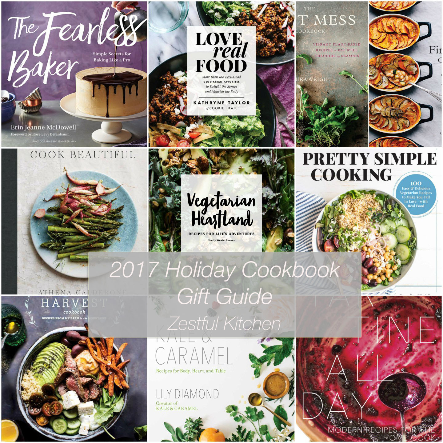 Holiday Cookbook Gift Guide | Zestful Kitchen