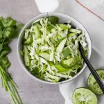 Herby Green Slaw | from Lauren Grant of Zestful Kitchen