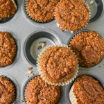 Actually Healthy Bran Muffins