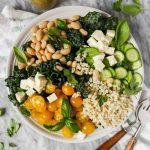 Herbed Kale & Sorghum Salad