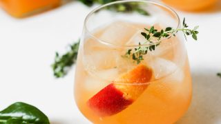 Peach & Thyme Spritz