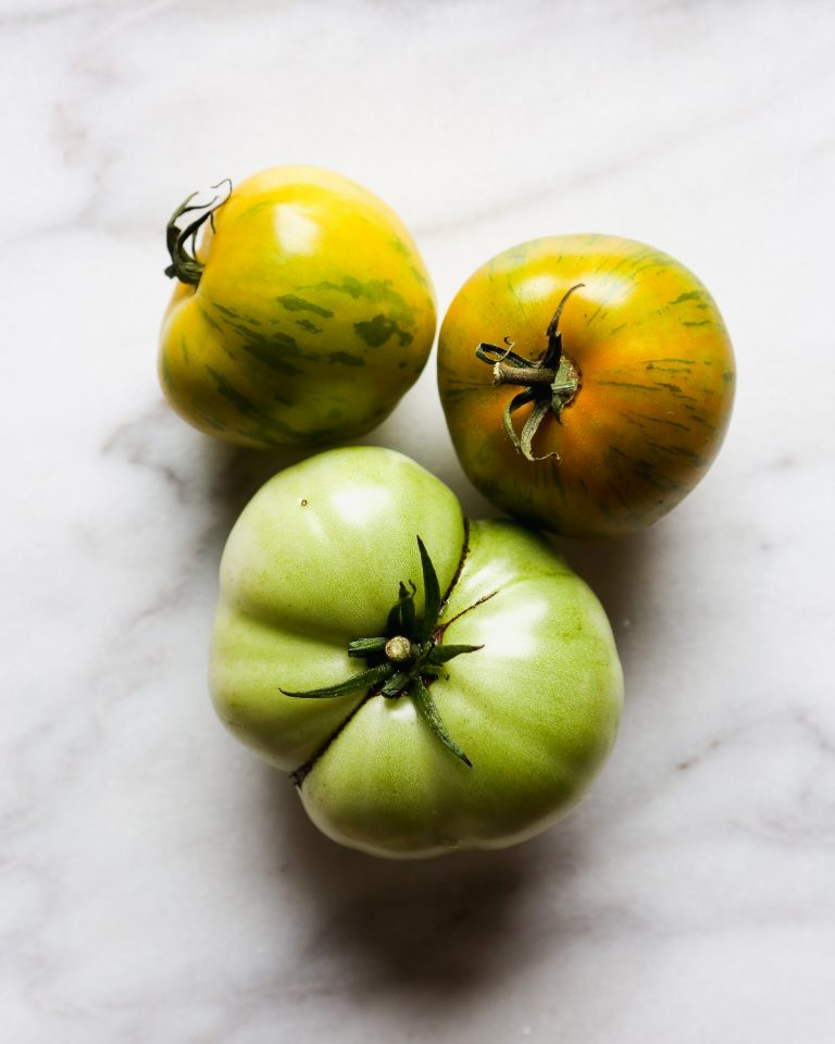 Garden-fresh summer tomatoes featured in the August Lo Down, Zestful Kitchen's Monthly Newsletter