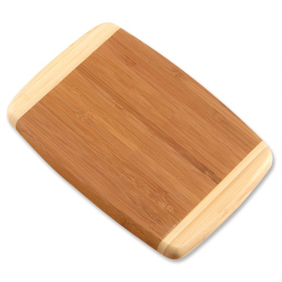Photograph of a bamboo cutting board (from For Small Hands)