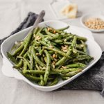 Easy Roasted Green Beans with Garlic & Lemon