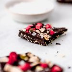 Healthy Dark Chocolate Coconut Bark