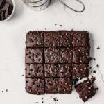 Easy Black Bean Brownies