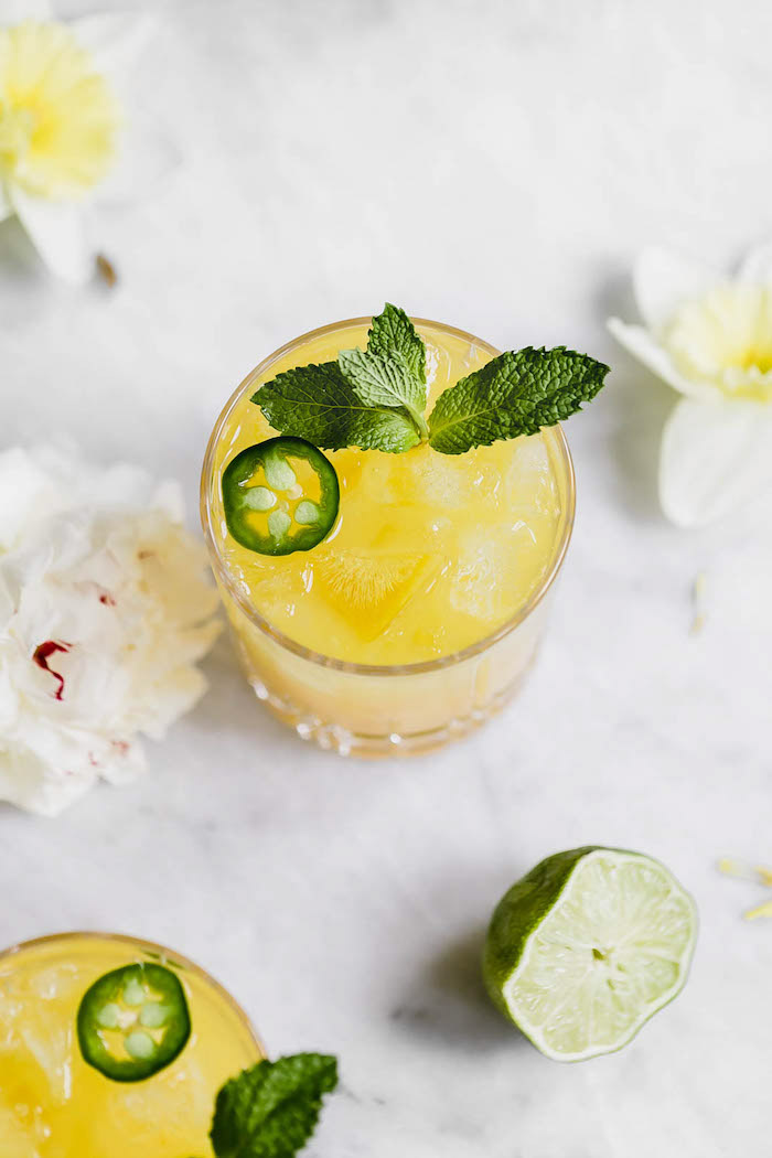 Spicy Passionfruit Margarita