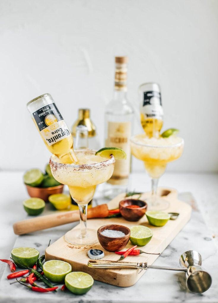 Lime & Chili Mezcal Beergaritas