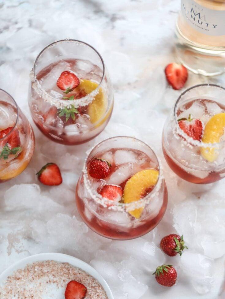 Tequila Rosé Spritz