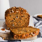 Whole Wheat Browned Butter Carrot Bread