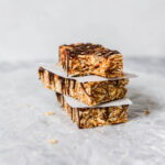 Naturally Sweetened Chewy Coconut & Date Granola Bars