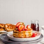 Toasted Oat Pancakes