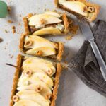 Pear, Hazelnut & Blue Cheese Tart with Whole-Wheat Crust