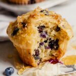Healthy Blueberry Lemon Muffins