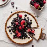 Fruit Tart with Mascarpone Whipped Cream & Whole-Wheat Olive Oil Crust