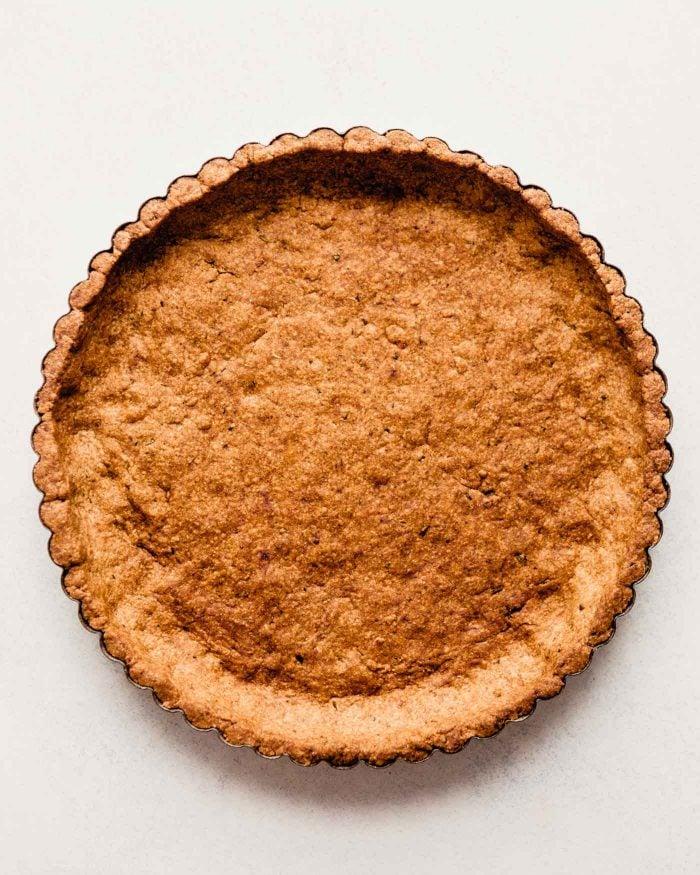 baked tart crust