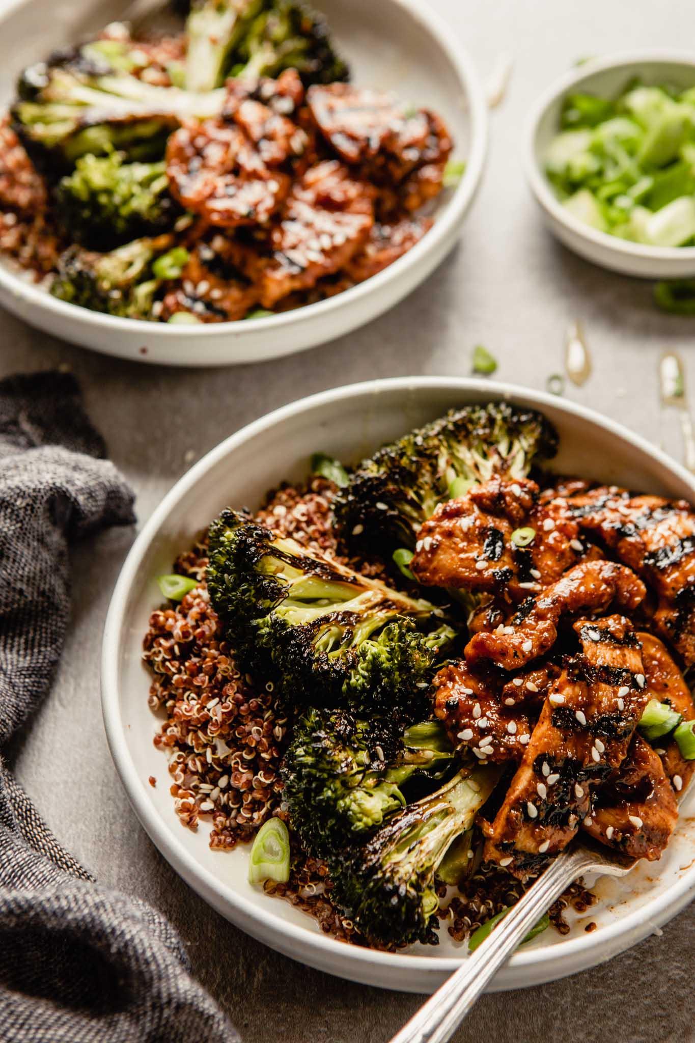 Bulgogi Bowls with Quinoa & Broccoli (beef or chicken ...