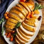 Orange Glazed Oven Roasted Turkey Breast
