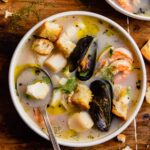 Light & Delicious Seafood Soup